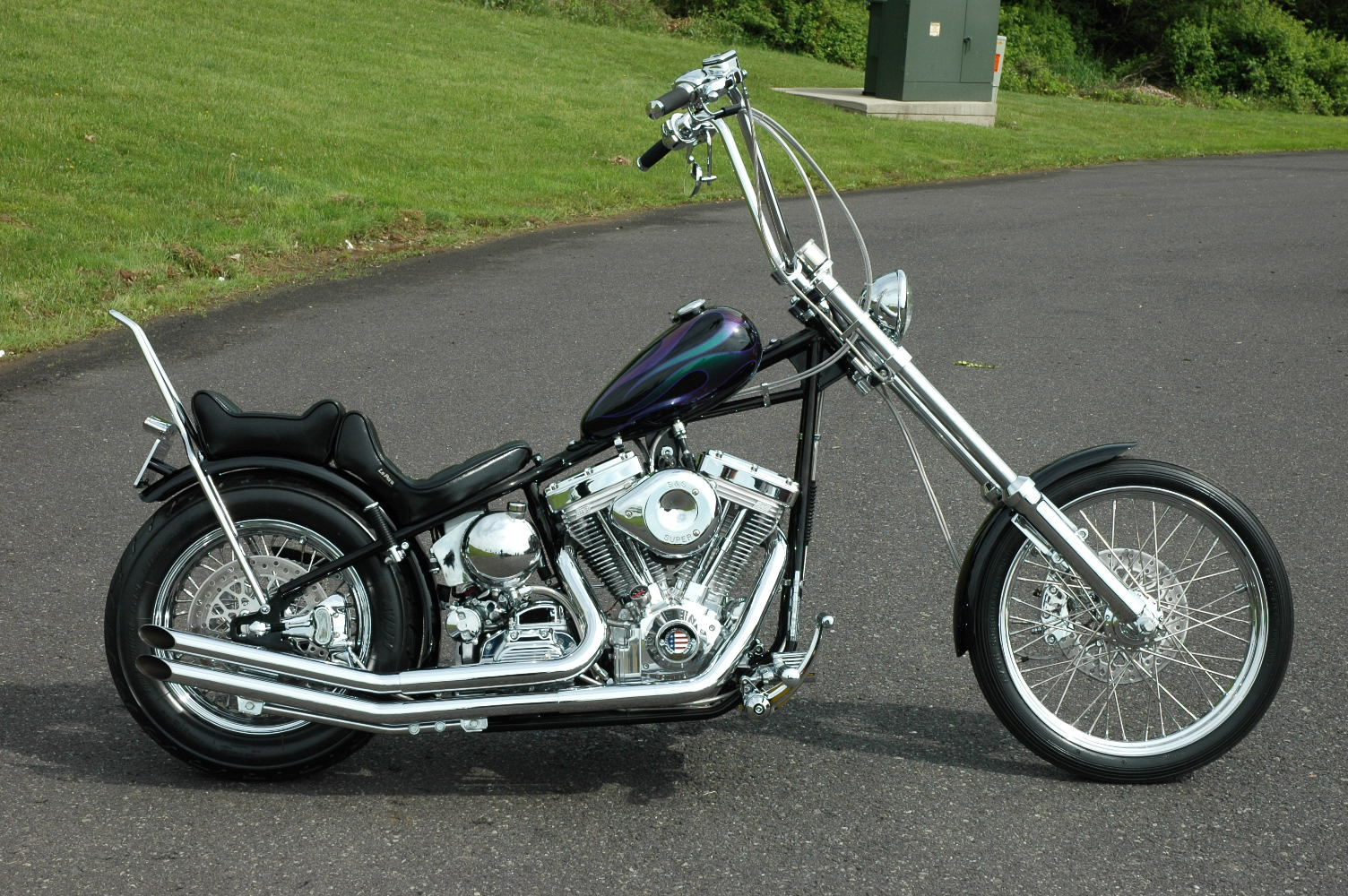 Easyrider 4 Up Rigid Frame Rolling Chassis Bike Kit Harley Custom ...