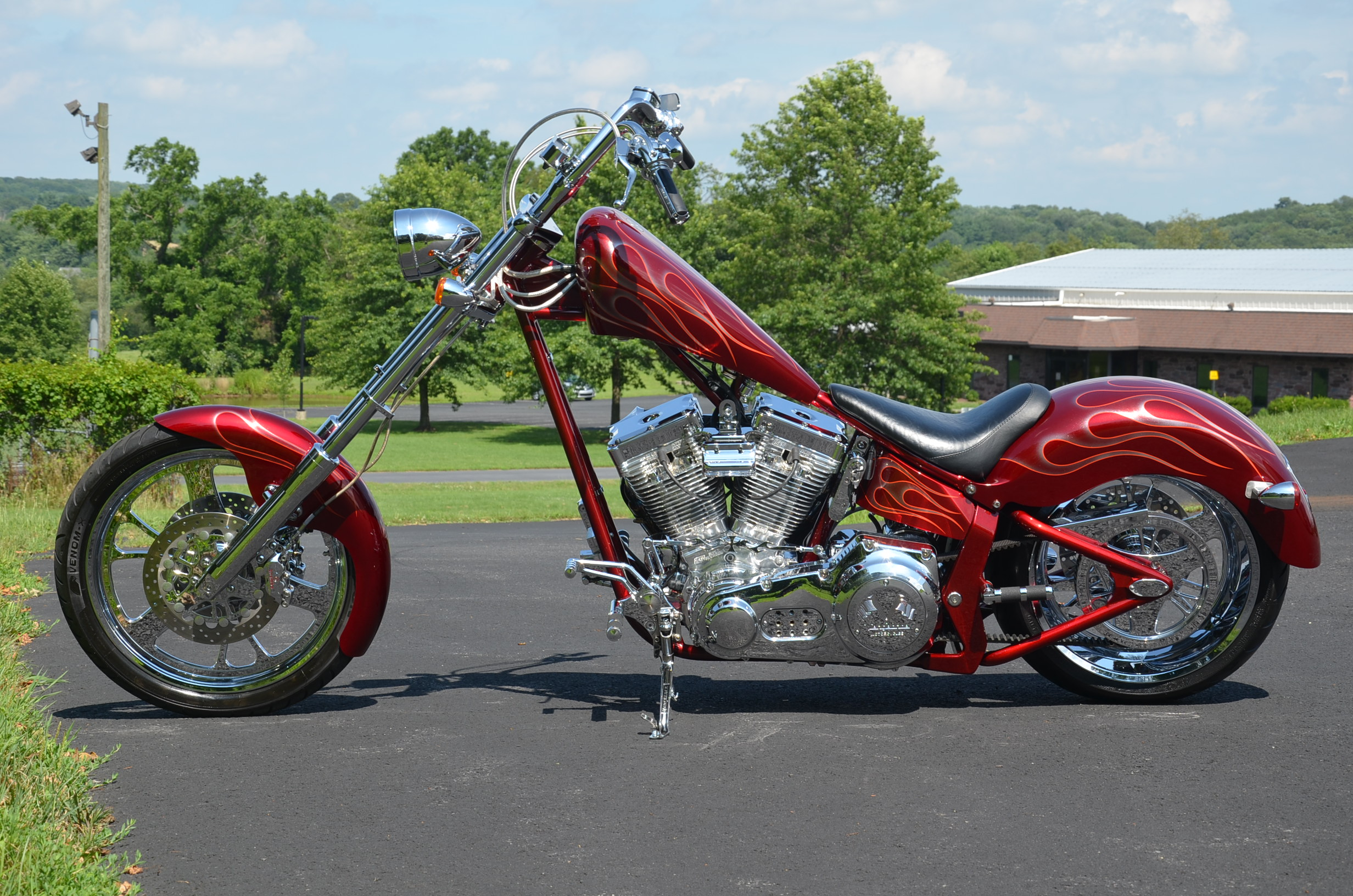 Buy 2003 Vengeance Raider Show Polished S U0026s 113 U0026quot  Softail