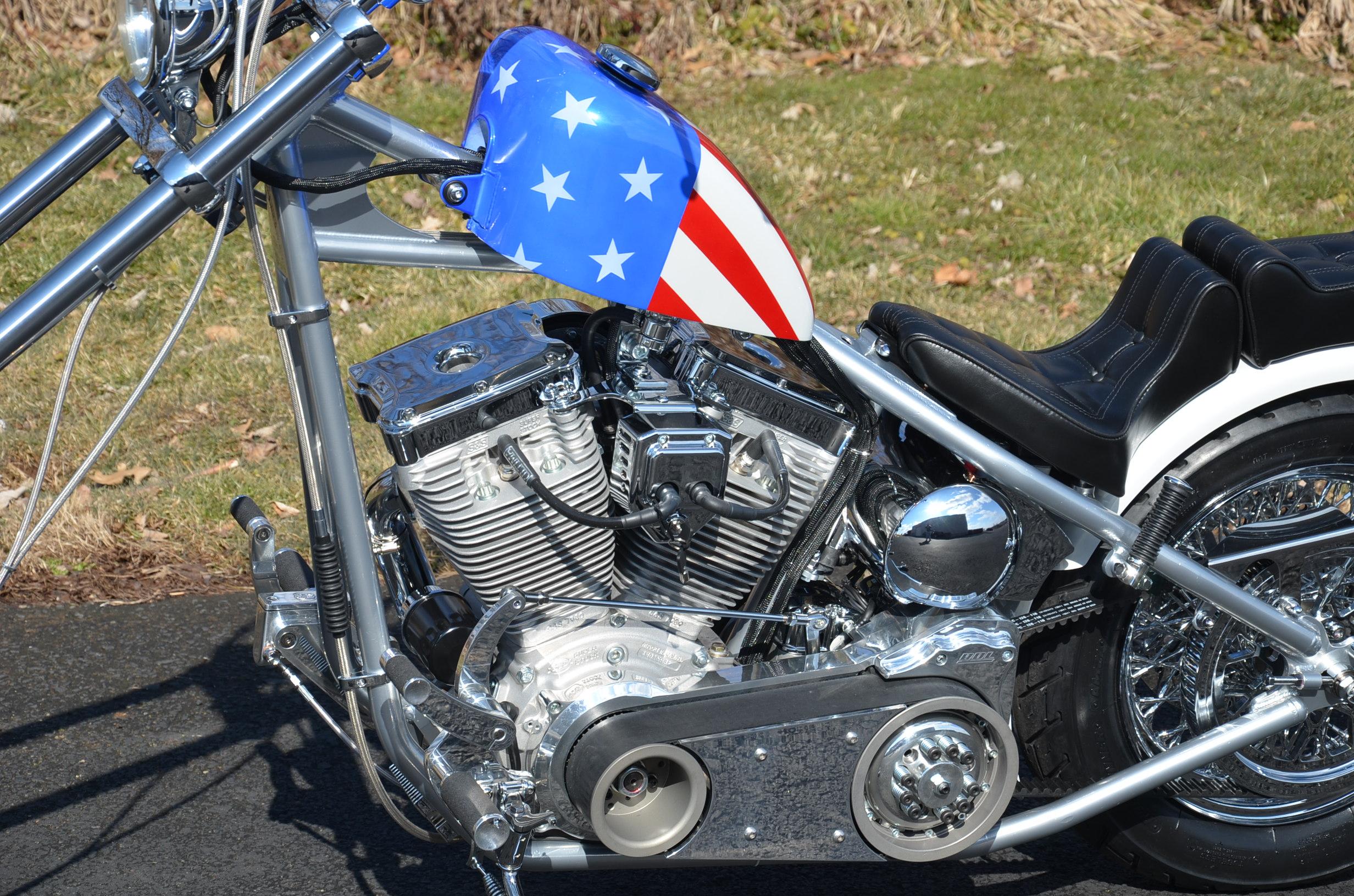 classic captain america chopper - photo #10
