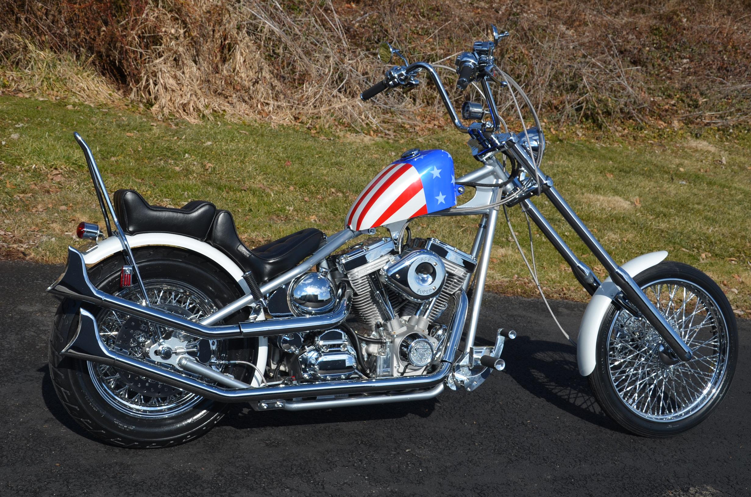classic captain america chopper - photo #8
